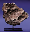 Meteorites:Irons, GIBEON METEORITE - TABLETOP SCULPTURE FROM OUTER SPACE. Iron, fine octahedrite - IVA . Great Nama Land, Namibia - (25°...