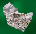 "Meteorites:Palasites, COMPLETE TRANSITIONAL SLICE OF SEYMCHAN METEORITE FROM THE COLLECTION OF TELEVISION'S ""METEORITE MEN"" . Pallasite - PMG ..."
