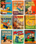 Big Little Book:Miscellaneous, Big Little Book Group (Whitman/Saalfield, 1936-47) AverageCondition: VF.... (Total: 9 Comic Books)