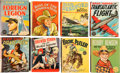 Big Little Book:Miscellaneous, Big Little Book Group (Whitman, 1930s) Condition: Average VF....(Total: 8 Comic Books)