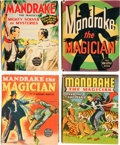 Big Little Book:Miscellaneous, Big Little Book Mandrake Group (Whitman, 1930s) Condition: AverageVF/NM.... (Total: 4 Comic Books)