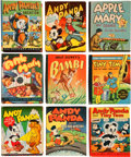 Big Little Book:Miscellaneous, Big Little Book Andy Panda Plus Group (Whitman, 1930s) Condition:Average VF.... (Total: 9 Comic Books)