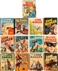 Big Little Book:Miscellaneous, Big Little Book Lone Ranger Group (Whitman, 1935-46) Condition:Average VF.... (Total: 13 Comic Books)