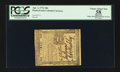 Colonial Notes:Pennsylvania, Pennsylvania April 3, 1772 18d PCGS Apparent Choice About New 58.....
