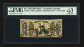 Fractional Currency:Third Issue, Fr. 1357 50¢ Third Issue Justice PMG Extremely Fine 40.. ...
