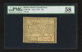 Colonial Notes:Rhode Island, Rhode Island July 2, 1780 $20 PMG Choice About Unc 58.. ...