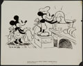 """Movie Posters:Animation, Walt Disney's Mickey Mouse (United Artists, 1930s). Artwork Photo(8"""" X 10""""). Animation.. ..."""