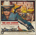 "Movie Posters:Western, The Lone Ranger and the Lost City of Gold (United Artists, 1958). Six Sheet (80"" X 80""). Western.. ..."