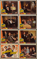 """Movie Posters:Comedy, Bachelor Daddy (Universal, 1941). Lobby Card Set of 8 (11"""" X 14""""). Comedy.. ... (Total: 8 Items)"""