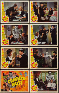 "Cracked Nuts (Universal, 1941). Lobby Card Set of 8 (11"" X 14""). Comedy. ... (Total: 8 Items)"