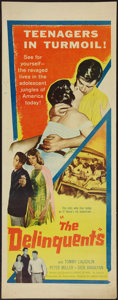 """Movie Posters:Exploitation, The Delinquents (United Artists, 1957). Insert (14"""" X 36"""").Exploitation.. ..."""
