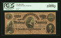 Confederate Notes:1864 Issues, Inverted Levy Designation T65 $100 1864.. ...