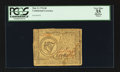 Colonial Notes:Continental Congress Issues, Continental Currency May 9, 1776 $8 PCGS Apparent Very Fine 35.....