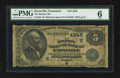 National Bank Notes:Tennessee, Knoxville, TN - $5 1882 Date Back Fr. 533 The Holston NB Ch. #4648. ...