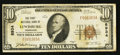 National Bank Notes:Tennessee, Lewisburg, TN - $10 1929 Ty. 1 The First NB Ch. # 8934. ...