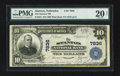 National Bank Notes:Nebraska, Stanton, NE - $10 1902 Plain Back Fr. 625 The Stanton NB Ch. # 7836. ...
