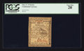 Colonial Notes:Continental Congress Issues, Continental Currency February 17, 1776 $1/6 PCGS Very Fine 20.. ...