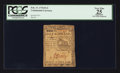 Colonial Notes:Continental Congress Issues, Continental Currency February 17, 1776 $1/2 PCGS Apparent Very Fine25.. ...