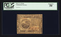 Colonial Notes:Continental Congress Issues, Continental Currency February 17, 1776 $6 PCGS About New 50.. ...