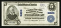 National Bank Notes:Tennessee, Johnson City, TN - $5 1902 Plain Back Fr. 609 The Unaka & CityNB Ch. # 6236. ...