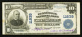National Bank Notes:Tennessee, Johnson City, TN - $10 1902 Plain Back Fr. 633 Tennessee NB Ch. #11839. ...