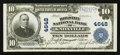 National Bank Notes:Tennessee, Knoxville, TN - $10 1902 Plain Back Fr. 628 The Holston NB Ch. #4648. ...