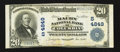 National Bank Notes:Tennessee, Columbia, TN - $20 1902 Plain Back Fr. 655 The Maury NB Ch. #(S)4849. ...