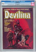 Magazines:Horror, Devilina #1 (Atlas-Seaboard, 1975) CGC NM+ 9.6 Off-white to white pages....