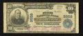 National Bank Notes:Tennessee, Elizabethton, TN - $10 1902 Plain Back Fr. 626 The First NB Ch. #9558. ...