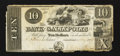Obsoletes By State:Ohio, Gallipolis, OH- Bank of Gallipolis $10 Nov. 9, 1839. ...