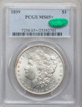 Morgan Dollars, 1899 $1 MS65+ PCGS. CAC....