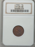 Proof Indian Cents: , 1908 1C PR64 Brown NGC. NGC Census: (18/18). PCGS Population(24/8). Mintage: 1,620. Numismedia Wsl. Price for problem free...