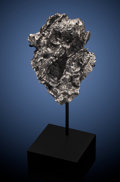 Meteorites:Palasites, SIKHOTE-ALIN METEORITE - FROM RENOWNED SIBERIAN METEORITE SHOWER, ACATACLYSMIC EVENT FROZEN IN TIME. Iron, coarse octahed...