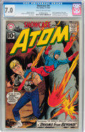 Silver Age (1956-1969):Superhero, Showcase #35 The Atom (DC, 1961) CGC FN/VF 7.0 Cream to off-white pages....