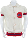 Basketball Collectibles:Uniforms, Late 1960's Dallas Chaparrals Game Worn Warm Up Jacket. ...