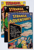 Golden Age (1938-1955):Science Fiction, Strange Adventures Group (DC, 1952-53).... (Total: 6 Comic Books)
