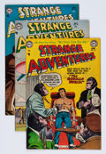 Golden Age (1938-1955):Science Fiction, Strange Adventures #45-47 and 49 Group (DC, 1954).... (Total: 4Comic Books)