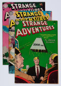 Golden Age (1938-1955):Science Fiction, Strange Adventures Group (DC, 1954-55).... (Total: 5 Comic Books)