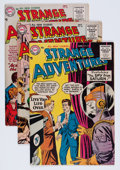 Golden Age (1938-1955):Science Fiction, Strange Adventures Group (DC, 1955).... (Total: 5 Comic Books)