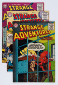 Golden Age (1938-1955):Science Fiction, Strange Adventures Group (DC, 1956).... (Total: 4 Comic Books)