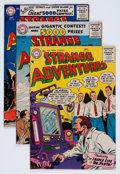 Silver Age (1956-1969):Science Fiction, Strange Adventures Group (DC, 1956-57).... (Total: 7 Comic Books)