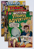 Golden Age (1938-1955):Science Fiction, Strange Adventures Group (Marvel, 1957-58).... (Total: 9 ComicBooks)