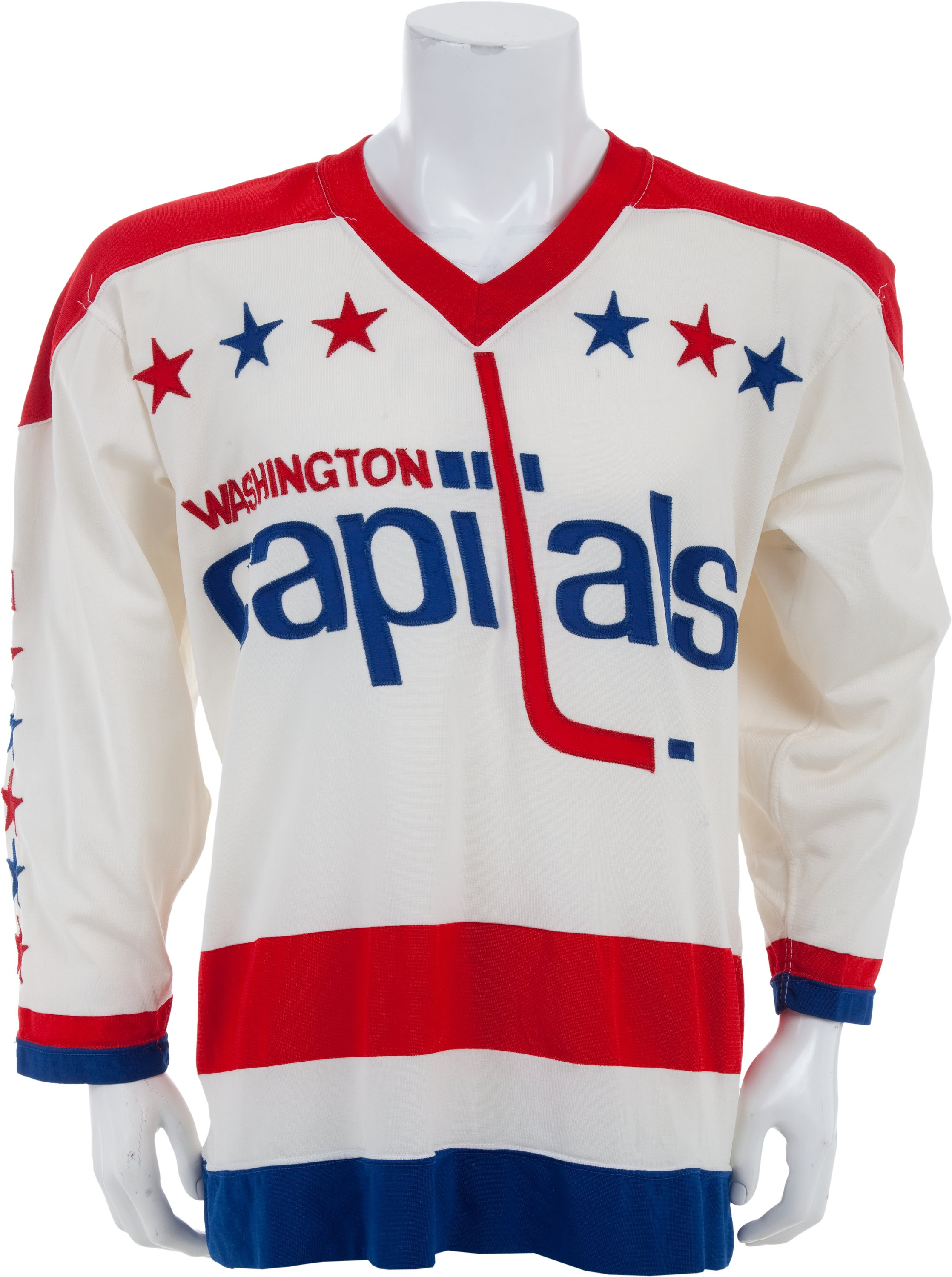 premium selection 24d4e 8a336 Mid 1970's Ron Low Game Issued Washington Capitals Jersey ...