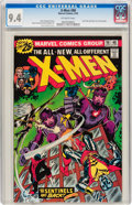 Bronze Age (1970-1979):Superhero, X-Men #98 (Marvel, 1976) CGC NM 9.4 Off-white pages....