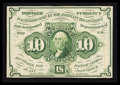 Fractional Currency:First Issue, Fr. 1243 10¢ First Issue Extremely Fine.. ...