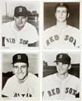 Baseball Collectibles:Photos, 1967 Boston Red Sox Promotional Photographs Collection (38). ...
