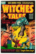 Golden Age (1938-1955):Horror, Witches Tales #13 (Harvey, 1952) Condition: VF....