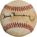 Autographs:Baseballs, Early 1980's Hank Greenberg Single Signed Baseball....