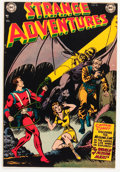 Golden Age (1938-1955):Science Fiction, Strange Adventures #18 (DC, 1952) Condition: VF-....