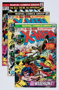 X-Men Group (Marvel, 1975-81) Condition: Average FN.... (Total: 16 Comic Books)